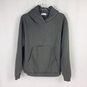 John Elliott Putty Brown Hoodie Sweatshirt  Size 2
